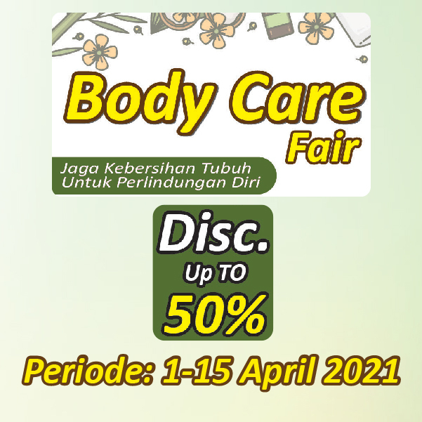 Banner Body Care Fair Alfamart Alfamart