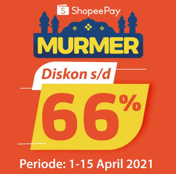 Banner ShopeePay Murmer Alfamart