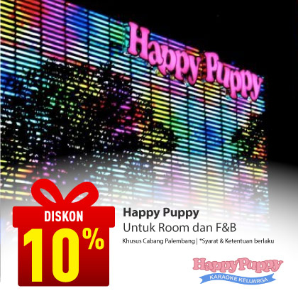 Special Offer Happy Puppy Palembang Square