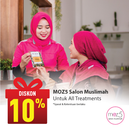 Special Offer MOZ5 Salon Muslimah