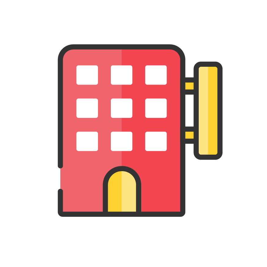 Icon service category for Hotel