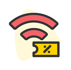 Icon service category for Wi-fi
