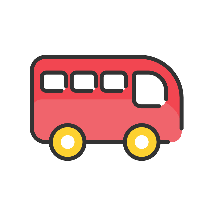 Icon service category for Bus & Travel