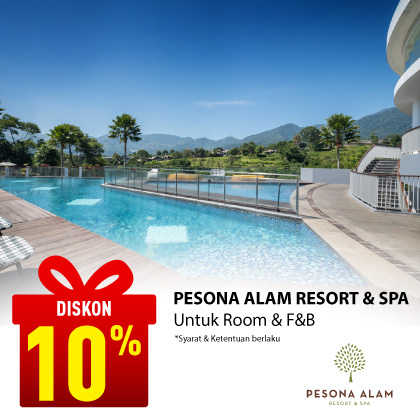 Special Offer PESONA ALAM RESORT & SPA