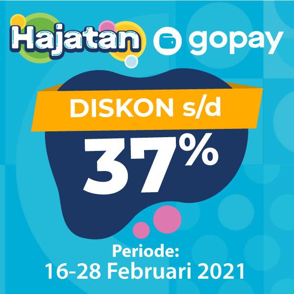 Banner Hajatan Gopay Alfamart