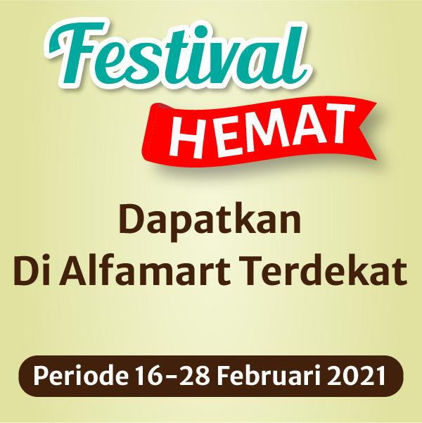 Banner Festival Hemat Alfamart Alfamart