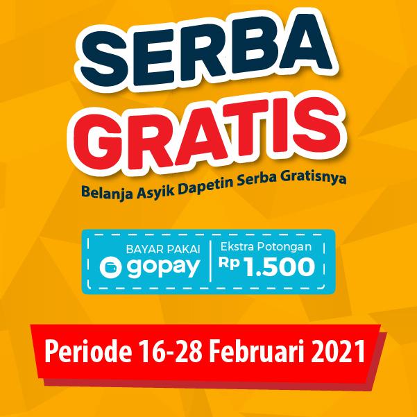 Banner Promo Serba Gratis Alfamart Alfamart