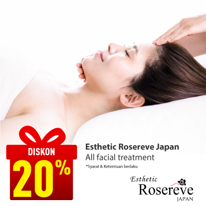 Special Offer Esthetic Rosereve Japan