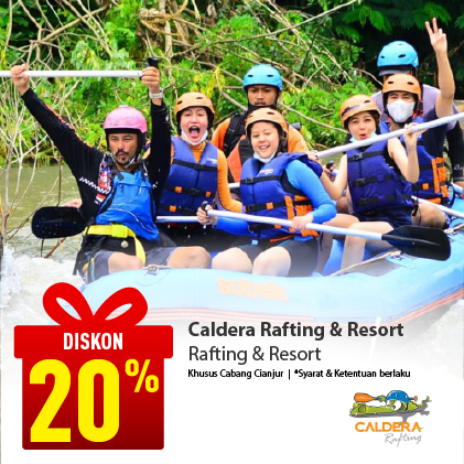 Special Offer CALDERA RAFTING & RESORT