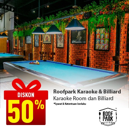 Special Offer ROOFPARK KARAOKE & BILLIARD