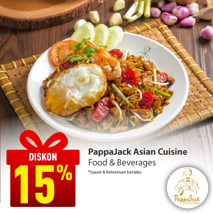Special Offer PAPPAJACK ASIAN CUISINE
