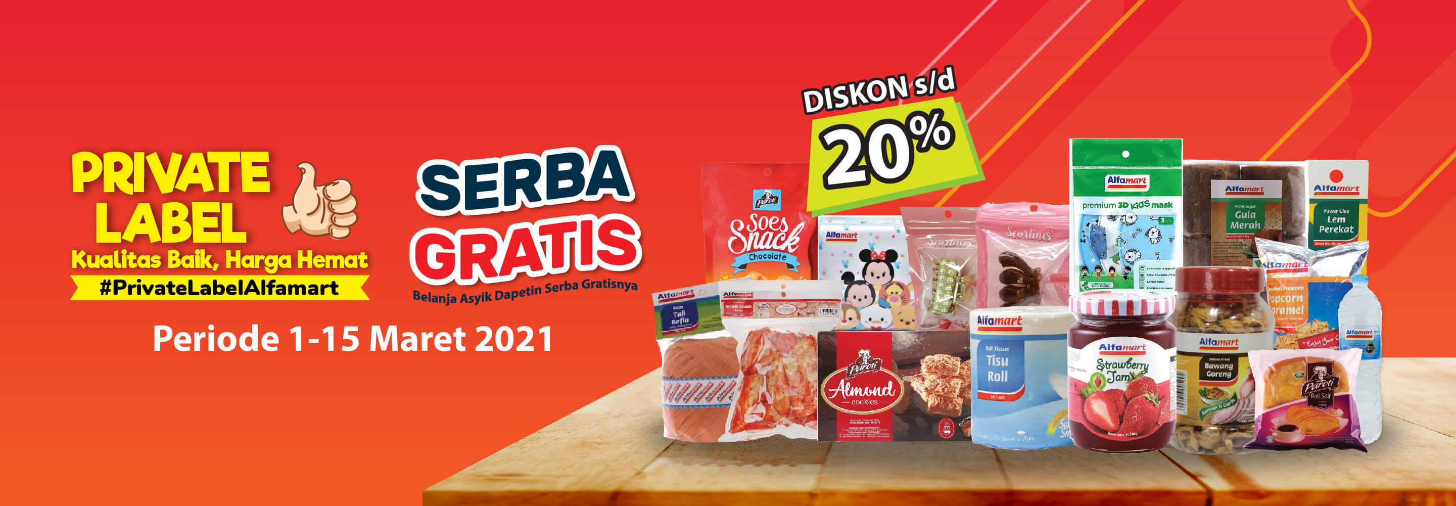 Promo Private Label Alfamart Alfamart