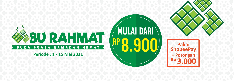 Banner promo Paket Bu Rahmat Alfamart