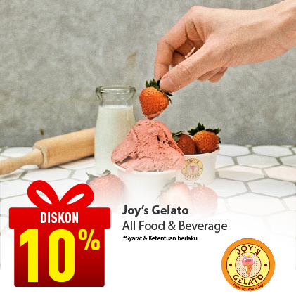 Special Offer JOY'S GELATO and RESTO