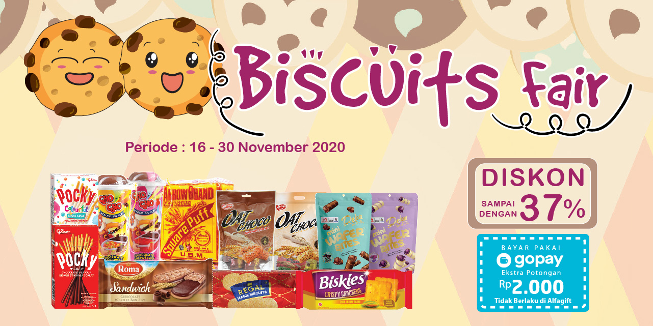 Mobile version banner Biscuit Fair