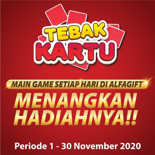 Banner Game Tebak Kartu Alfagift Alfamart