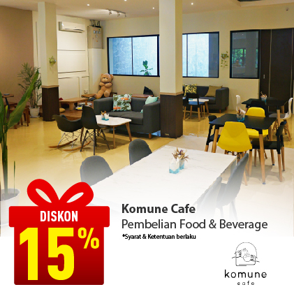 Special Offer KOMUNE CAFE