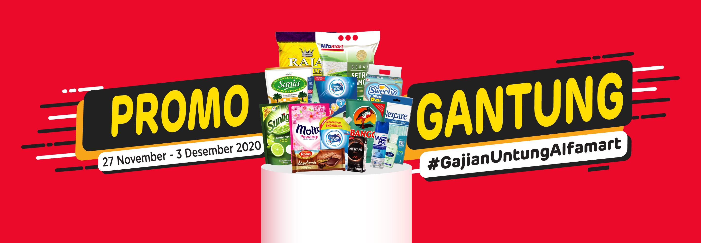 Banner promo Gajian Saatnya Hemat dengan Promo Gantung Alfamart Alfamart