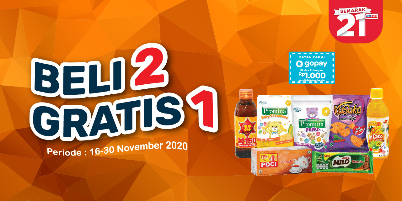 Mobile version banner Alfamart Beli 2 Gratis 1