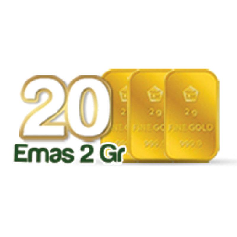 Icon reward 20 Pemenang - Emas 2gr