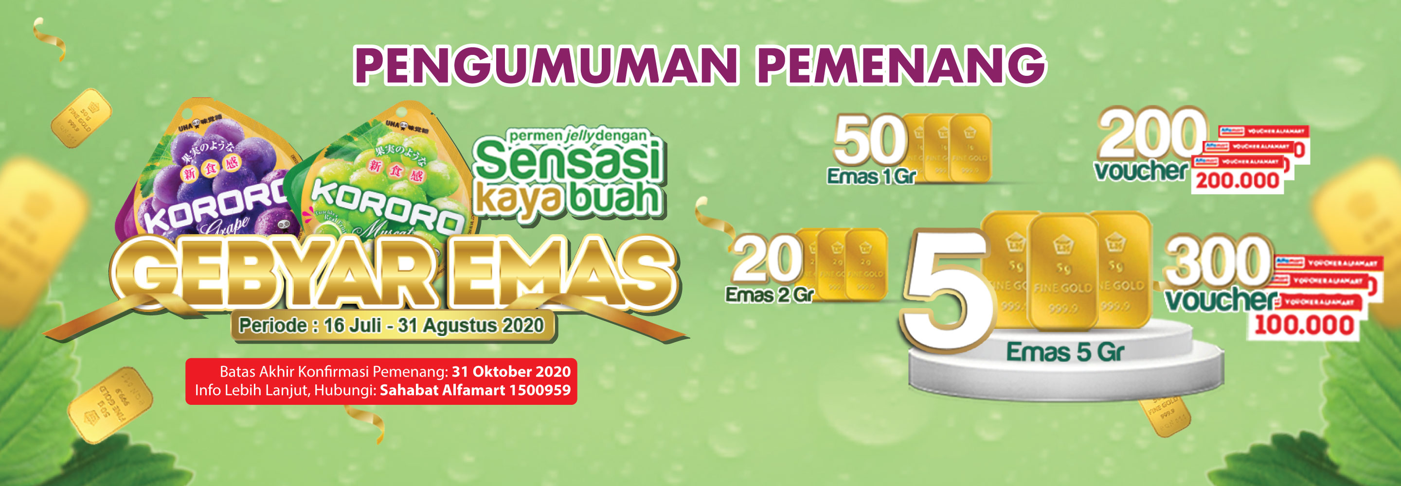 Program Gebyar Emas Kororo