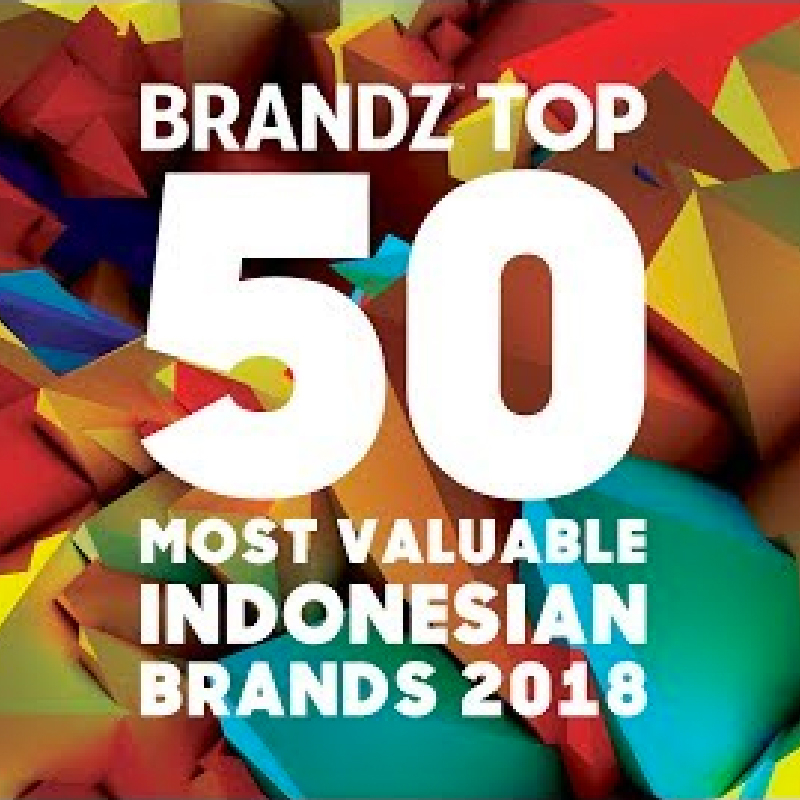 Image reward Brandz Top 50 Most Valuable Indonesia Brands