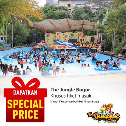 Special Offer THE JUNGLE BOGOR