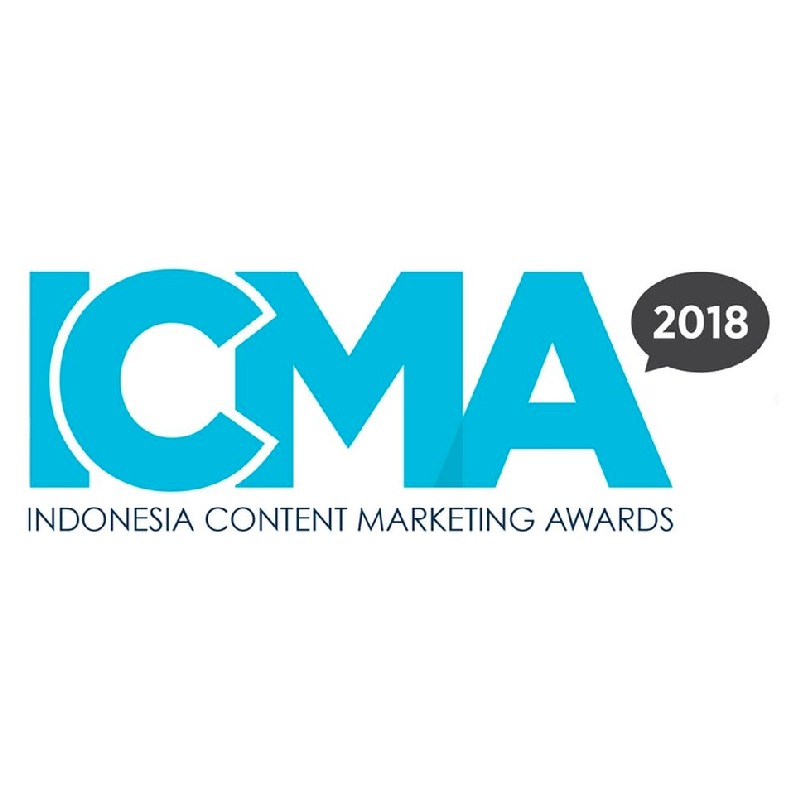 Image reward Indonesia Content Marketing Award