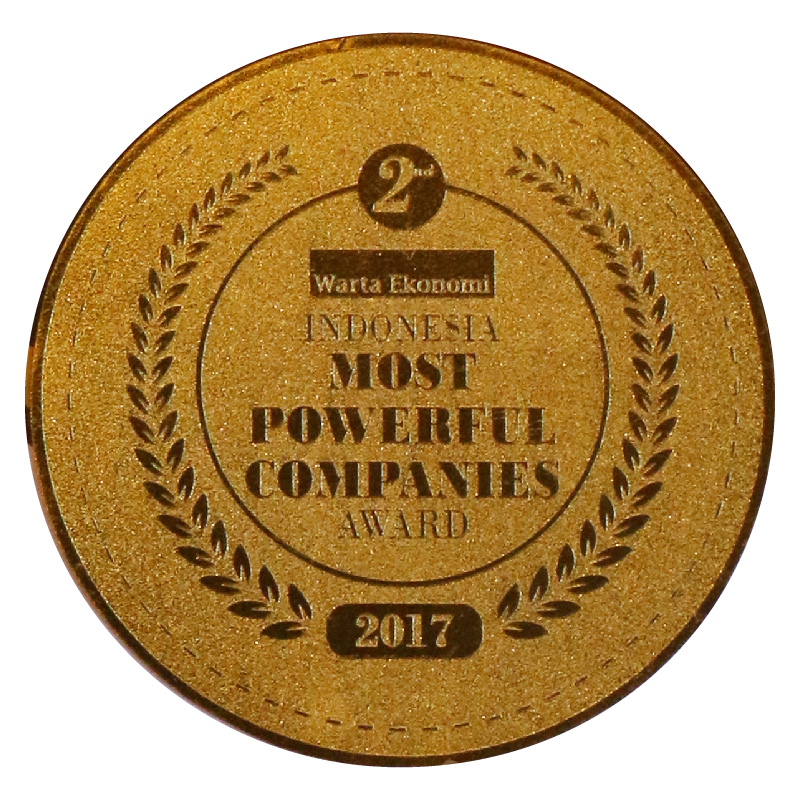 Image reward Indonesia Most Powerful Companies